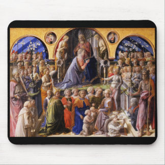 Fra Filippo Lippi and The Coronation of the Virgin Mouse Pad
