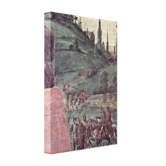 Fra Filippo Lippi - laying out of St Stephan Canvas Prints