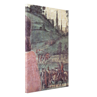 Fra Filippo Lippi - laying out of St Stephan Canvas Print