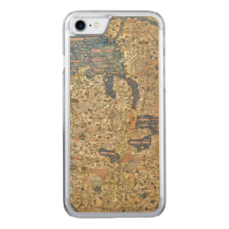 Fra Mauro Map Carved iPhone 8/7 Case