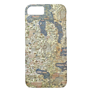 Fra Mauro Map iPhone 8/7 Case