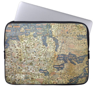 Fra Mauro Map Laptop Sleeve