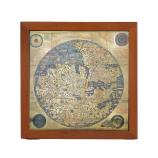 Fra Mauro Map Pencil/Pen Holder