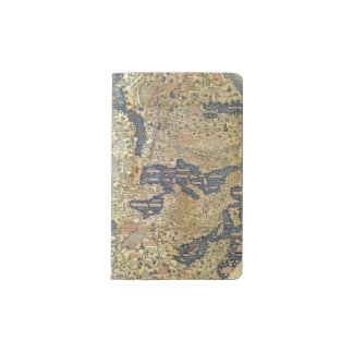 Fra Mauro Map Pocket Moleskine Notebook