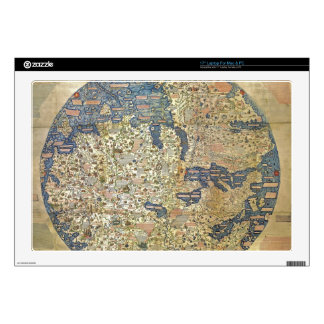Fra Mauro Map Skins For Laptops