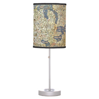 Fra Mauro Map Table Lamp