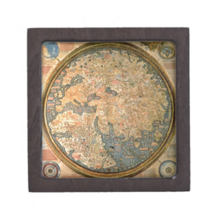 Fra Mauro world map Gift Box