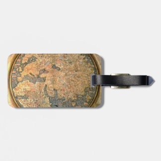 Fra Mauro world map Luggage Tag