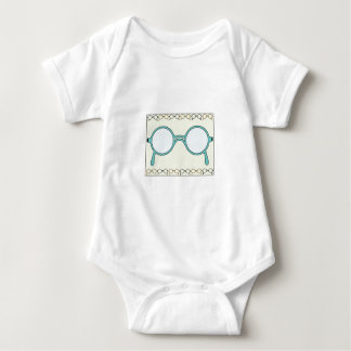 Fraamed Glasses Baby Bodysuit