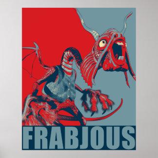 Frabjous Poster