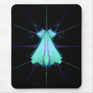 frac blue alien mouse pad
