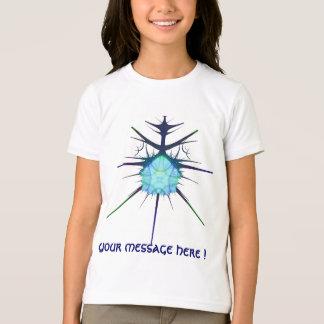 frac blue alien shirt, with your message ! T-Shirt