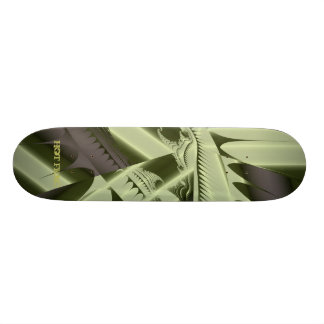 Frac caliente diseña por el verde gris de Leslie H Patin Personalizado