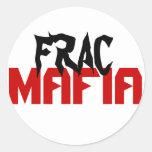Frac mafia classic round sticker
