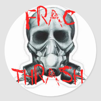 FRAC THRASH STICKER