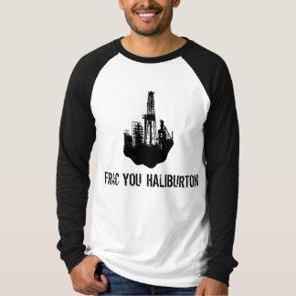 frac usted Haliburton Playera