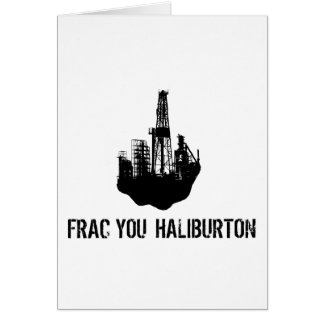 frac you Haliburton Card