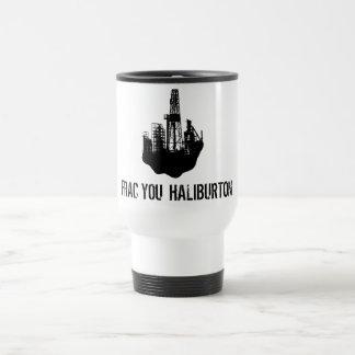 frac you Haliburton 15 Oz Stainless Steel Travel Mug