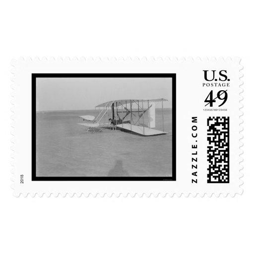Fracaso 1903 del aeroplano de Kitty Hawk Sellos
