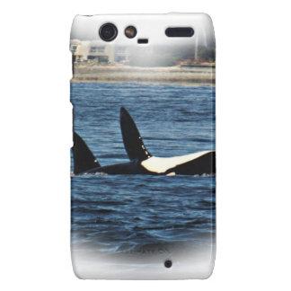 Fracaso de Belly de la orca de las orcas del Motorola Droid RAZR Carcasa