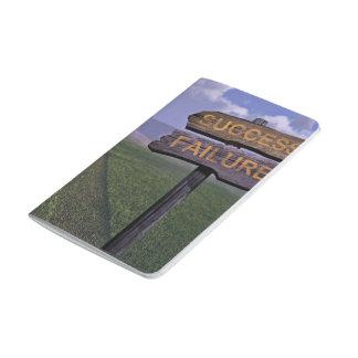 Fracaso del éxito cuadernos grapados