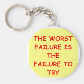 fracaso llavero redondo tipo pin