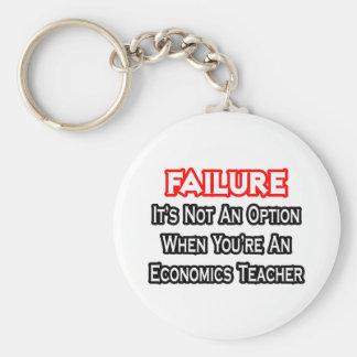Fracaso… no un profesor de la economía de la opció llaveros