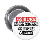 Fracaso… no un profesor de la opción… pin