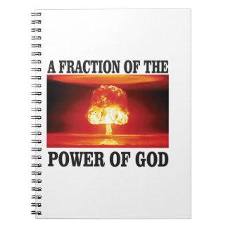 fracción del poder de dios libretas