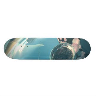 FracDeck Clear Sphere Skateboard Decks