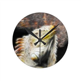 Fracguana Round Clock