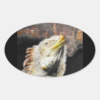 Fracguana Oval Sticker