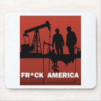 Frack America Mouse Pad