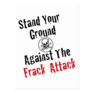 Frack Attack Postcard