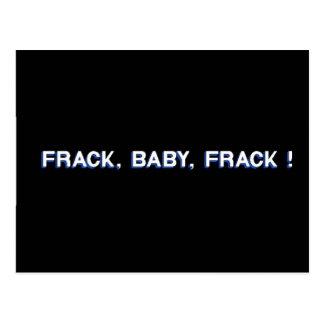 Frack, Baby, Frack! Postcard
