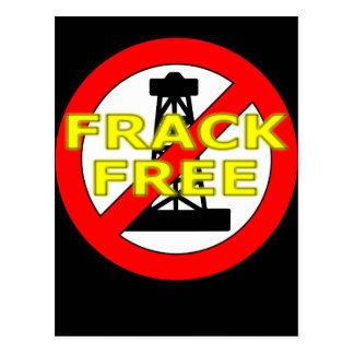 Frack Free UK Postcard