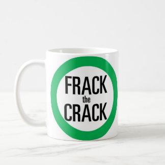Frack the Crack Coffee Mug