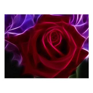 Fracked Roses Postcard