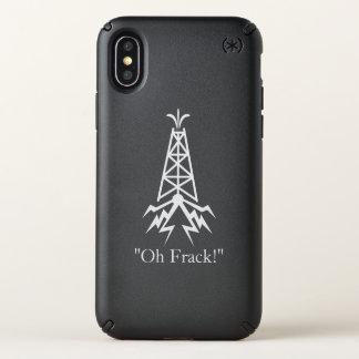 Fracking Oil Rig Speck iPhone X Case