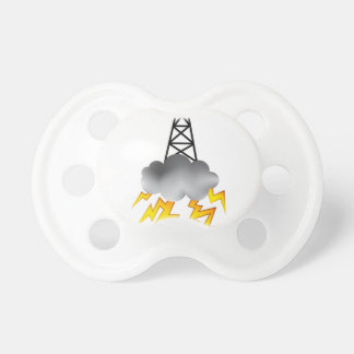 Fracking Oil Rig Symbol Graphic BooginHead Pacifier