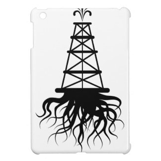 Fracking Rig With Roots iPad Mini Cover