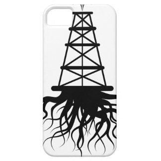 Fracking Rig With Roots iPhone SE/5/5s Case