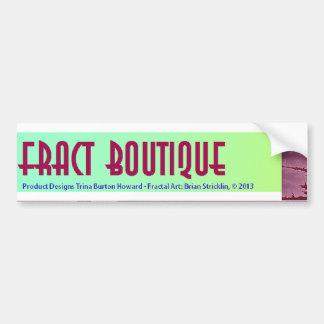 Fract Boutique - Fractal Art Bumper Sticker Car Bumper Sticker
