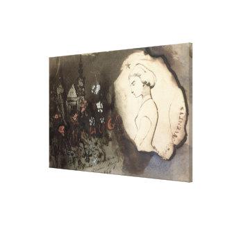 Fracta Juventus, 1864 Lona Envuelta Para Galerias