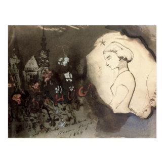 Fracta Juventus, 1864 Postal