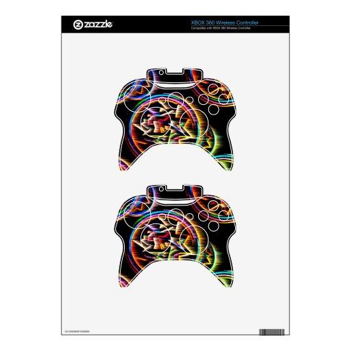 Fractagram Mando Xbox 360 Calcomanía