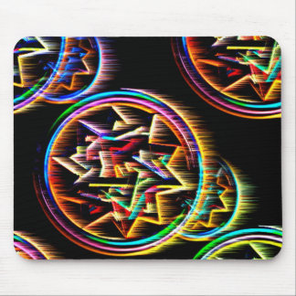 Fractagram Mouse Pad