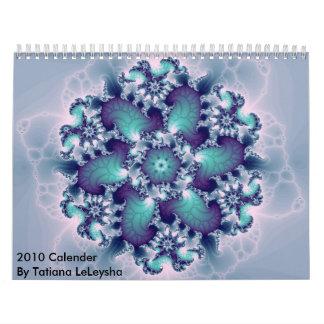 Fractal143, 2010 Calender By Tatiana LeLeysha Calendar