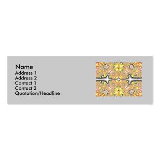 fractal1, fractal1, nombre, dirección 1, dirección tarjetas de visita mini
