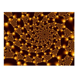 Fractal1 Lace work Postcard